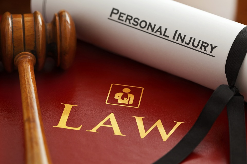 personal injury law case with gavel in salem